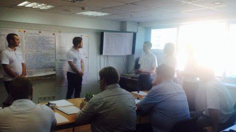 Сотрудники компании «Такснет»прошли корпоративный тренинг «Управление проектами «