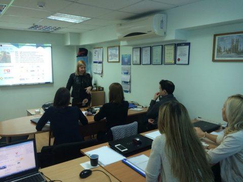 Состоялось открытие группы по курсу «Интернет маркетинг»