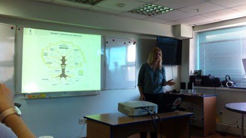 Состоялось занятие по интернет маркетингу с Марией Тарасовой