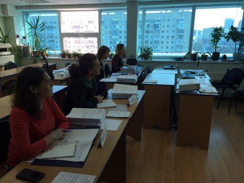 Состоялось открытие группы по курсу МСФО.