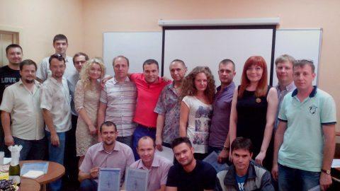 Руководители компании «1 МАРКА» прошли корпоративный тренинг «Управление проектами»