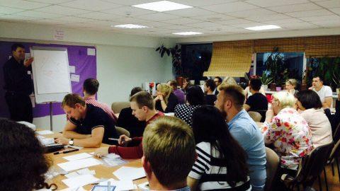 3 сентября провели мастер-класс на тему: «Анализ рисков проекта»