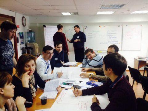 Сотрудники компании «Автодория» прошли корпоративный тренинг «Управление проектами «