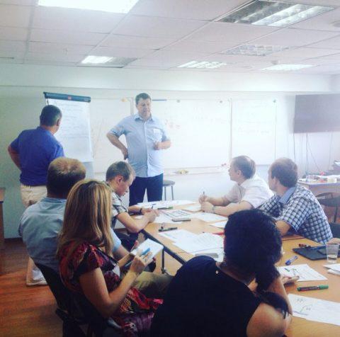 Мастер-класс «Как подготовить успешный проект» для сотрудников «Сетевой компании»