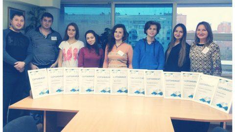 Завершила обучение группа по курсу «Интернет маркетинг»