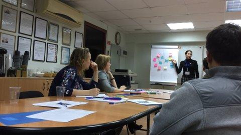 26.10 состоялся мастер-класс «Как влиять на людей без манипуляций»