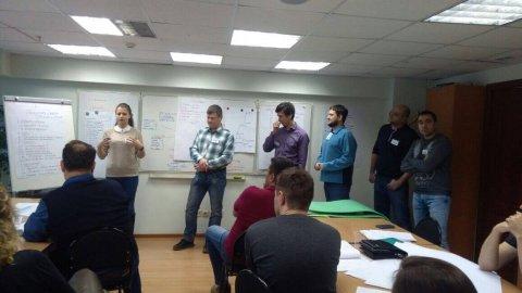 24-25 ноября состоялось заключительное занятие по курсу «Управление проектами»