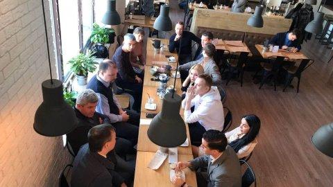 Илья Антонов выступил на бизнес-завтраке «Фабрики предпринимательства»