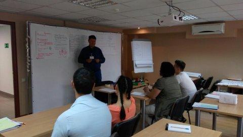 15 сентября состоялось первое занятие по курсу «Управление проектами»
