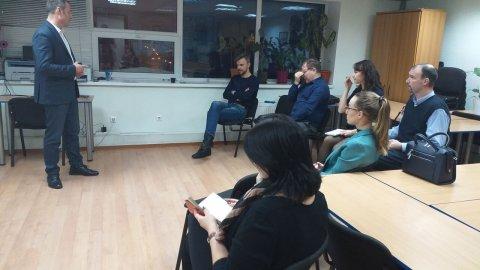 7 февраля МЦДО -ЛИНК совместно с ЦДЗ провели мастер-класс на тему «Карта потока создания ценности (VSM)