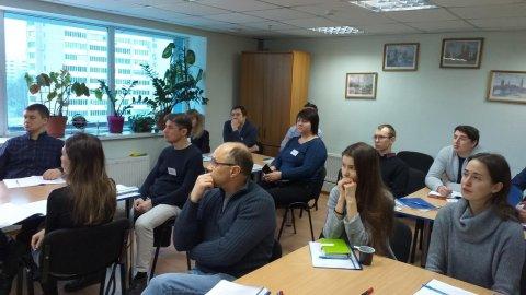 2 февраля в субботу состоялось открытое занятие по курсу «Управление проектами»